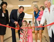 NFL Quarterback Matt Schaub and his GR8 Hope Foundation  cut ribbon on expanded emergency center at Texas Children's Hospital West Campus